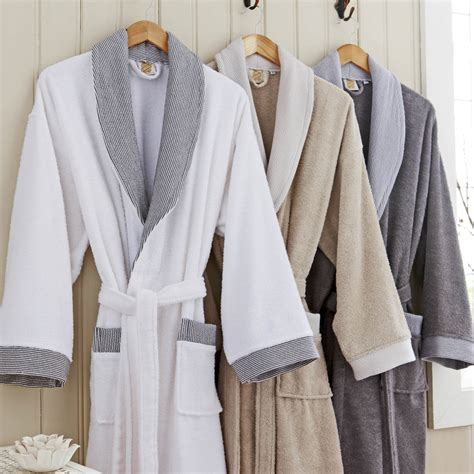bed bath and beyond bathrobes monte carlo towelling bathrobe king of cotton