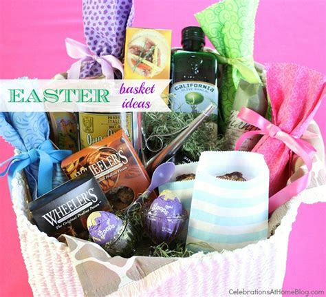 adult easter basket ideas ideas for easter baskets celebrations at home