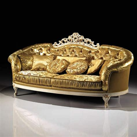 gold sofa gold luxury sofas floral ornament gold arm sofa cushions