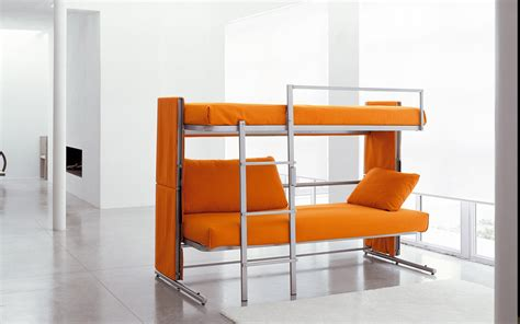 Living Room And Dining Room Combo by Platzsparendes Hochbett Oder Schlafsofa Doc