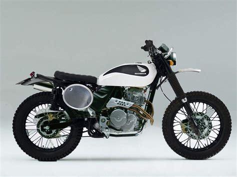 Honda Motorrad Ffb by Pin Green Auf Enduro Custom Scrambler