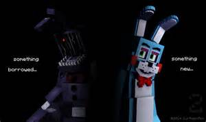 Five nights at freddy 2 in minecraft picture by rubinthethird on