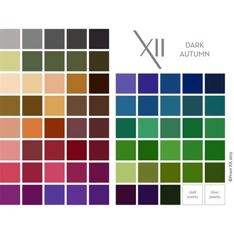 autumn color palette best 25 dark autumn ideas on pinterest deep autumn