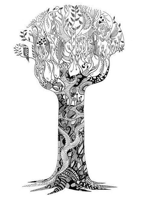 doodle draw tree tree drawing zentangles doodles and designs
