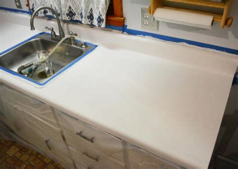 Countertop Finishes Epoxy by Kitchen Bathroom Countertop Refinishing Kits Armor Garage