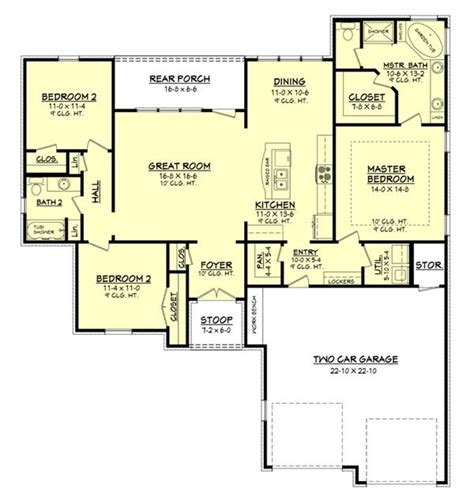 Dual Master Suite House Plans House Plan 142 1049 3 Bedroom 1600 Sq Ft Country