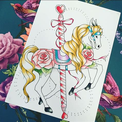carousel horse tattoo designs 25 best ideas about carousel tattoos on