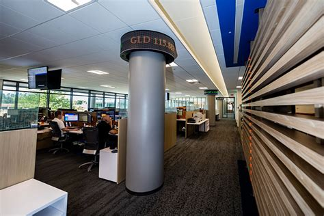 Wall Trading Floor by Lpl Financial Brings Wall Excitement To Its South