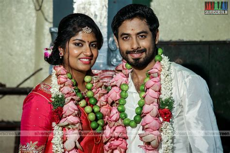 actor jai ganesh son aari marries girlfriend nadiya silverscreen in