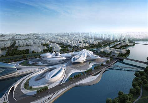 Home Theater Floor Plan by Changsha Meixihu International Culture Amp Art Centre Zaha