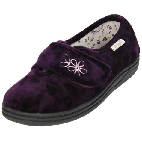 washable slippers for new dr keller velcro fastening machine washable