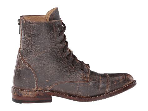 bed stu bed stu laurel in brown teak lux leather lyst