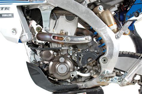 parts of a motocross bike yamaha yz450fx test dirt bike magazine