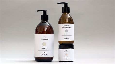 Handmade Cosmetics Brands - oh skin unisex cosmetics the dieline packaging