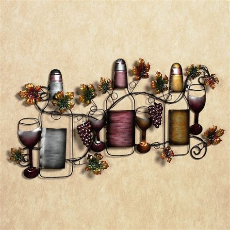 at home wall decor ingenious wine wall art decor ideas introducing intricate