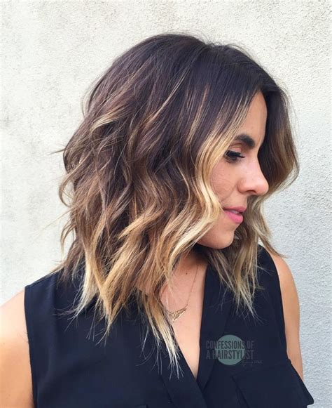 ideas womens shoulder length bob hairstyles best hairstyles for in 2017 10 wavy shoulder length hairstyles with edge top for you