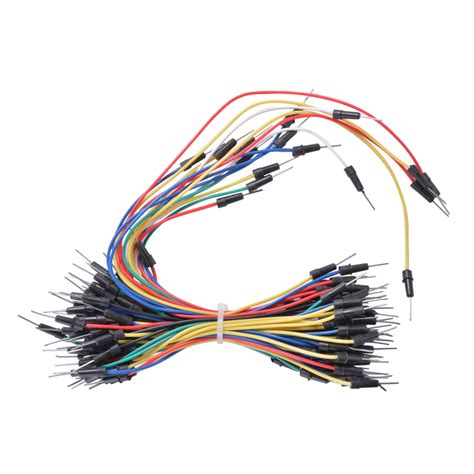 Kabel Kawat Jumper 0 10mm 830 breadboard jumper wire kabel netzteil adapter f 252 r arduino raspberry pi te715 4894663154288