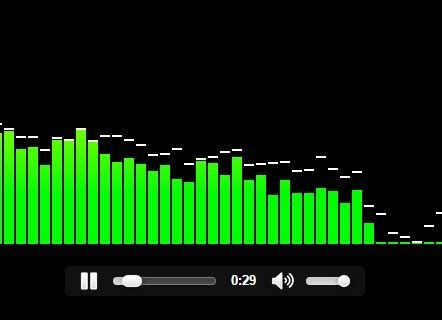 Script Website Sosial Media Musik And Social Mp3 Clone audio visualizer with html5 audio element css script