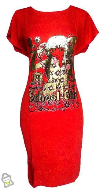 Syari Zara Aster Merah store co id baju wanita melora daster batik merah allsize