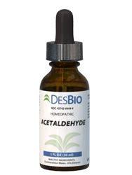 Acetaldehyde Detox by Homeopathic Acetaldehyde Desbio