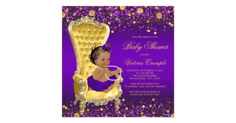 Wall Art Stickers For Living Room purple gold chair ethnic ballerina baby shower card zazzle
