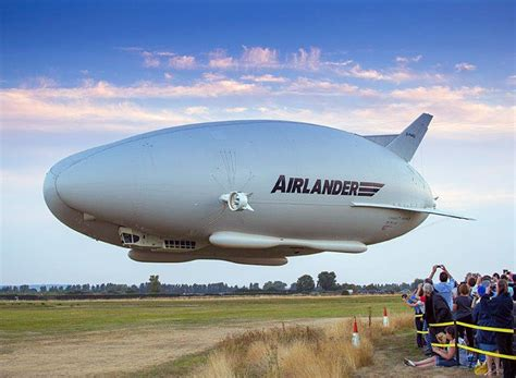 designboom zeppelin hybrid air vehicles airlander 10 largest aircraft has
