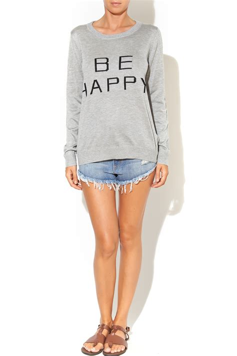 To Sweater Happy lumiere be happy sweater from kansas city by frankie jules shoptiques