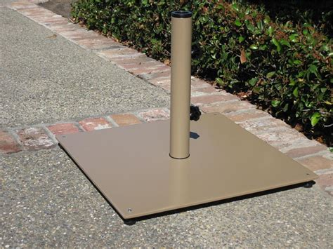 Patio Umbrellas With Base 60lb Enamaled Steel Patio Umbrella Base