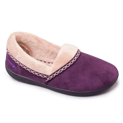 wide slippers for padders mellow womens microsuede fleece wide