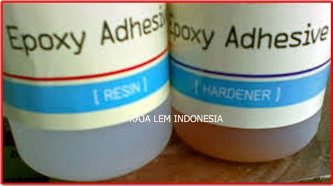 Jual Lem Resin Bening by Jual Lem Epoxy Resin Adhesive