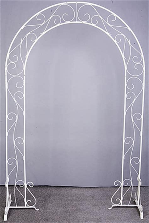 Wedding Arch White by Wedding Arches Av Rental