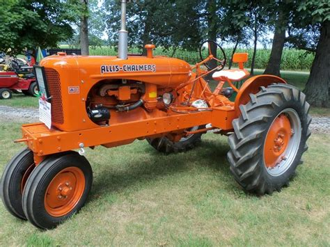 Ac Wc Looking 1947 Wc Allis Chalmers Tractors Ac