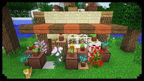 minecraft     flower shop youtube