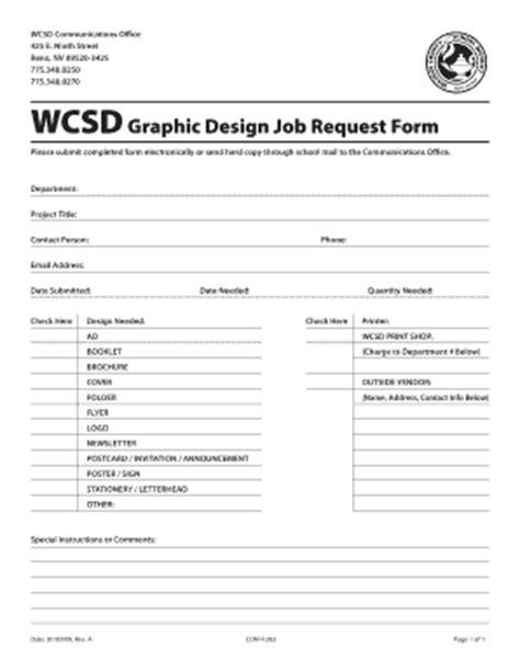 Design Form Jobs | graphic design forms job order form graphic design