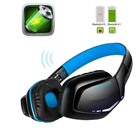 best earphones with microphone for android kotion each b3506 v4 1 bluetooth gaming headset wireless