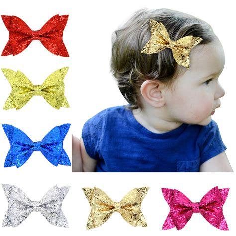 1 pieces new 2016 fashion baby headband rhinestone lace 2016 a new hair clip for flash gold rhinestone