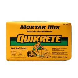 quikrete home depot quikrete 60 lb mortar mix 110260 the home depot