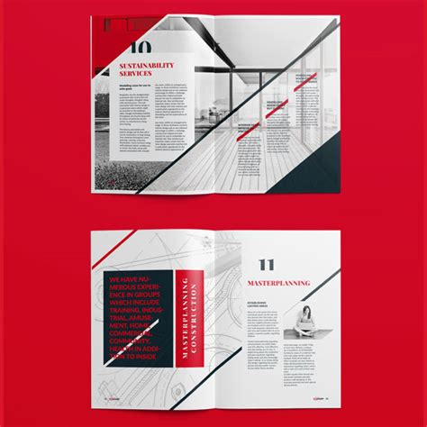 architecture brochure templates 20 modern style brochure catalogue template design
