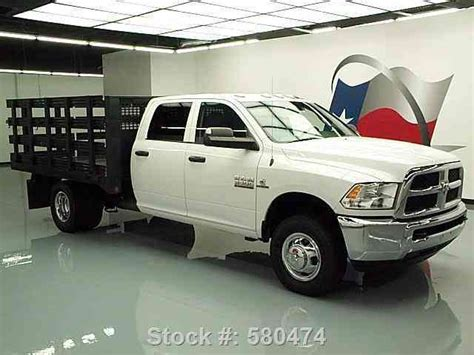 dodge stake bed truck dodge ram 3500 tradesman crew diesel stake bed 2013