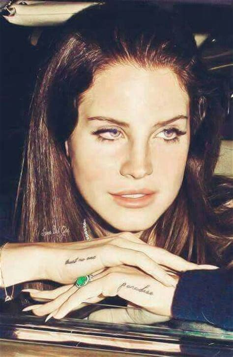lana del rey hand tattoo tattoos emerald ring