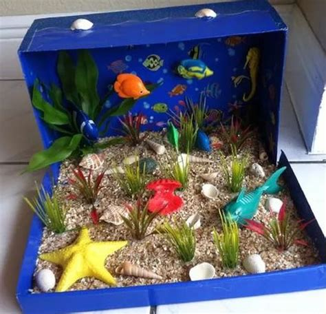 25 best ideas about dioramas on pinterest shadow box ocean habitat for kids project www imgkid com the