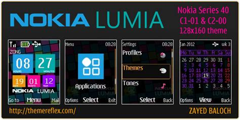 mobile9 themes nokia c2 00 lumia 800 themes