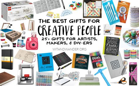 the absolute best gifts for creative people artists