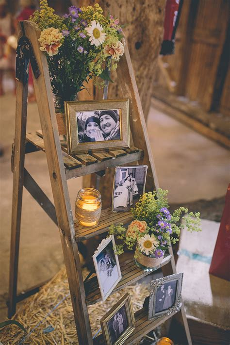 25 sweet and rustic barn wedding decoration ideas