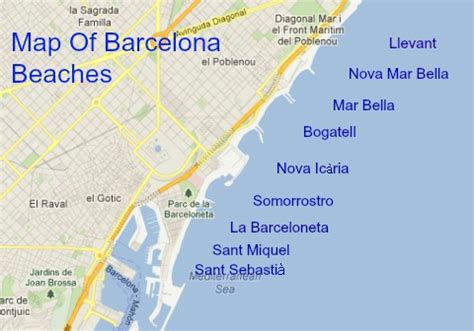 barcelona beaches the best city beaches in the mediterranean