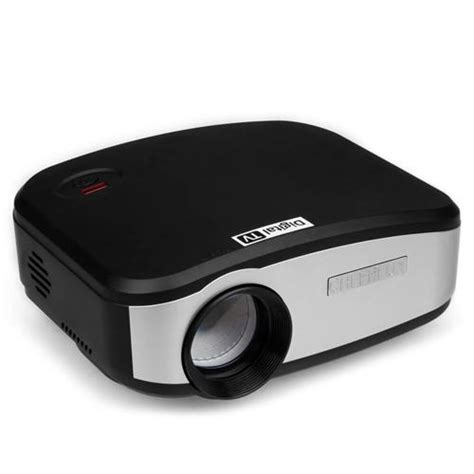 Lu Projector Mx King cheerlux c6 lcd projector with digital tv black