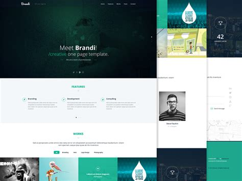 templates bootstrap wordpress free brandi free bootstrap corporate template graygrids
