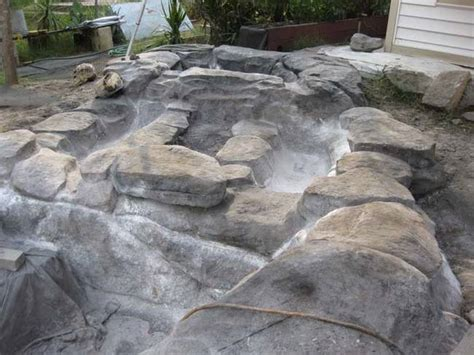 diy inground concrete pool a built a diy tropical pool in his backyard after his