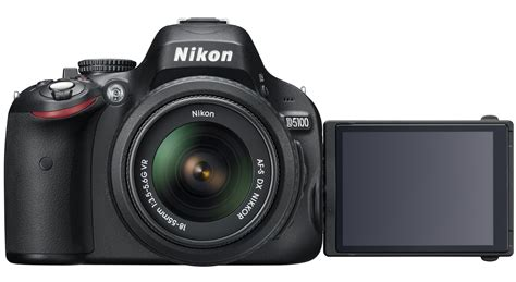 nikon d5100 digital slr announced and previewed
