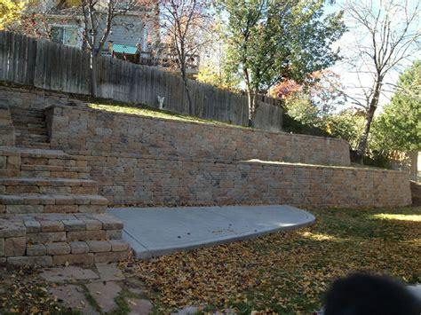 landscape wall design home design ideas